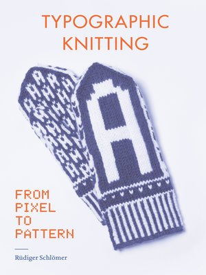 cover image of Typographic Knitting
