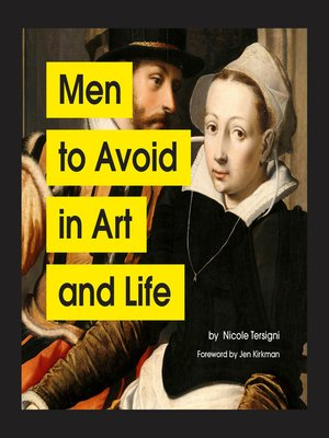 cover image of Men to Avoid in Art and Life