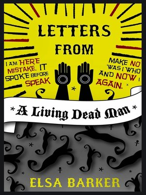 cover image of Letters from a Living Dead Man