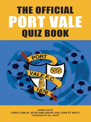 cover image of The Official Port Vale Quiz Book