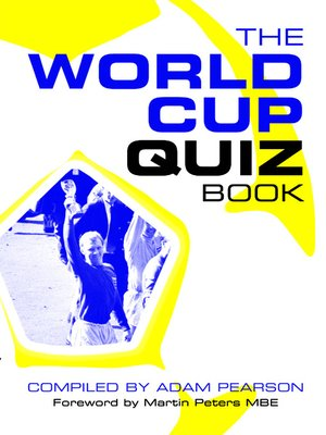 cover image of The World Cup Quiz Book
