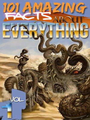 cover image of 101 Amazing Facts About Everything, Volume 1