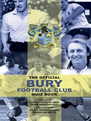 cover image of The Official Bury Football Club Quiz Book