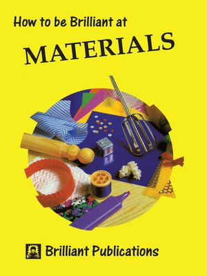 cover image of How to be Brilliant at Materials