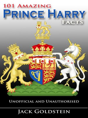 cover image of 101 Amazing Prince Harry Facts