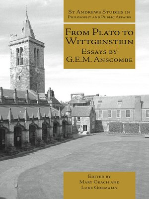 cover image of From Plato to Wittgenstein