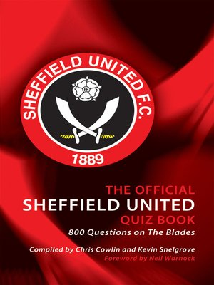 cover image of The Official Sheffield United Quiz Book