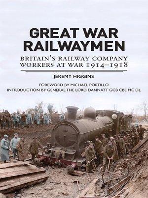 cover image of Great War Railwaymen