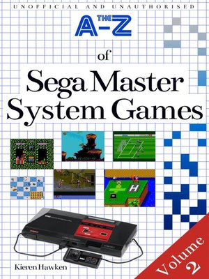 cover image of The A-Z of Sega Master System Games, Volume 2