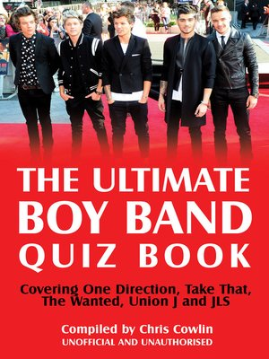 cover image of The Ultimate Boy Band Quiz Book