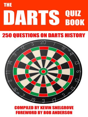 cover image of The Darts Quiz Book