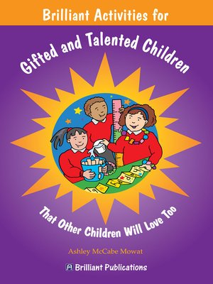 cover image of Brilliant Activities for Gifted and Talented Children