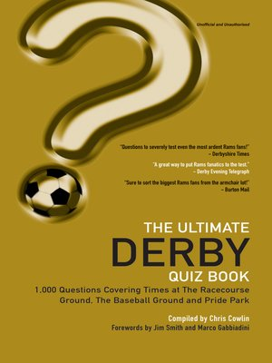 cover image of The Ultimate Derby Quiz Book