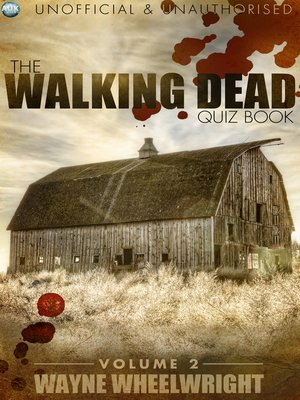 cover image of The Walking Dead Quiz Book, Volume 2