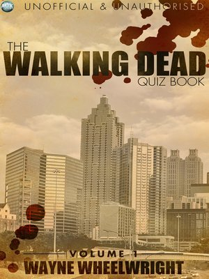 cover image of The Walking Dead Quiz Book, Volume 1