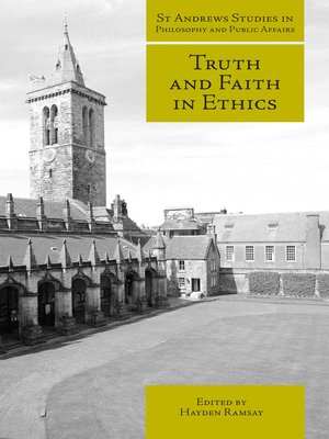 cover image of Truth and Faith in Ethics