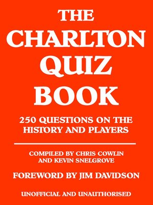 cover image of The Charlton Quiz Book