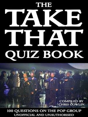 cover image of The Take That Quiz Book