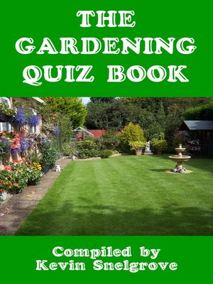 cover image of The Gardening Quiz Book
