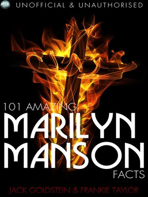 cover image of 101 Amazing Marilyn Manson Facts