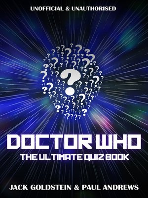 cover image of Doctor Who: The Ultimate Quiz Book