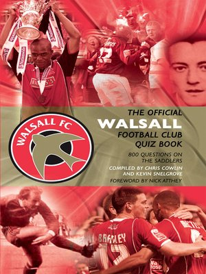 cover image of The Official Walsall Football Club Quiz Book