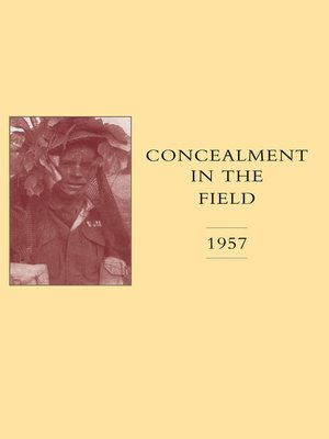 cover image of Concealment in the Field 1957