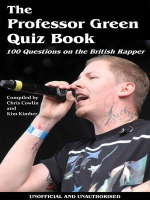 cover image of The Professor Green Quiz Book