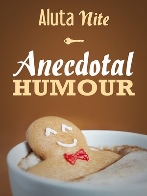 cover image of Anecdotal Humour