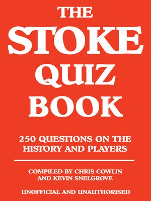 cover image of The Stoke Quiz Book