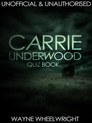 cover image of Carrie Underwood Quiz Book
