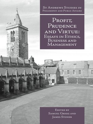 cover image of Profit, Prudence and Virtue