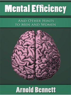 cover image of Mental Efficiency