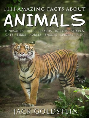 cover image of 1111 Amazing Facts about Animals