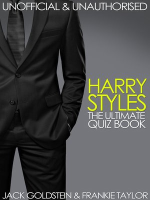 cover image of Harry Styles - The Ultimate Quiz Book