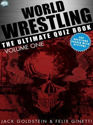 cover image of World Wrestling, Volume 1