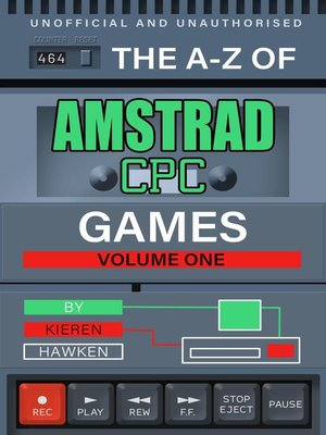 cover image of The A-Z of Amstrad CPC Games, Volume 1