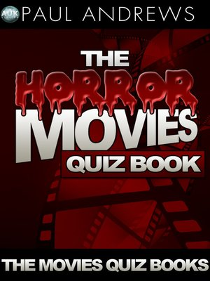 cover image of The Horror Movies Quiz Book
