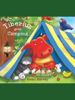 cover image of Tiberius Goes Camping