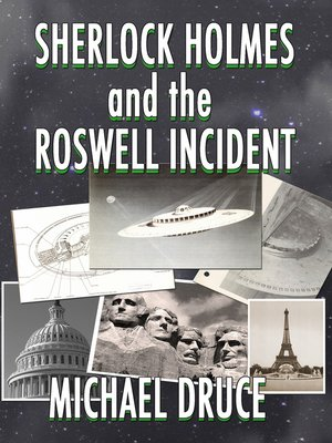 cover image of Sherlock Holmes and The Roswell Incident