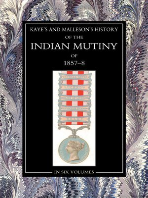 cover image of The History of the Indian Mutiny of 1857-58, Volume 1