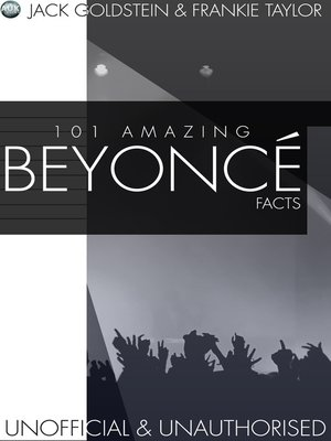 cover image of 101 Amazing Beyonce Facts