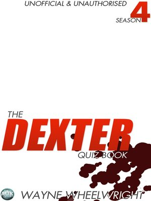 cover image of The Dexter Quiz Book, Season 4