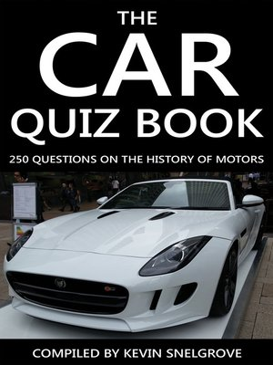 cover image of The Car Quiz Book