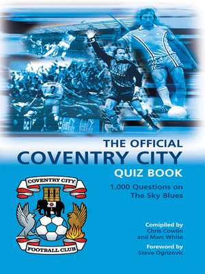 cover image of The Official Coventry City Quiz Book
