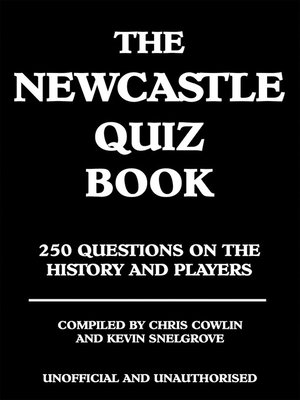 cover image of The Newcastle Quiz Book