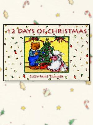 cover image of Les Douze Jours de Noël