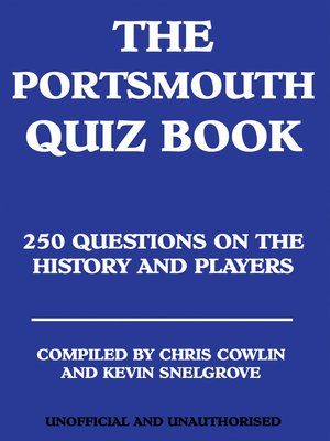 cover image of The Portsmouth Quiz Book