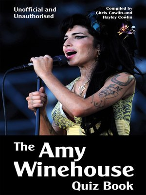 cover image of The Amy Winehouse Quiz Book