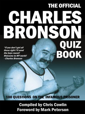 cover image of The Official Charles Bronson Quiz Book